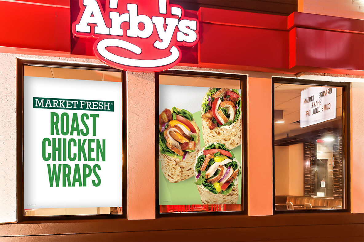 We strategize and design every element in store — from window clings to the menu board architecture — to bring to life a guest experience that's as appetizing as it is easy.